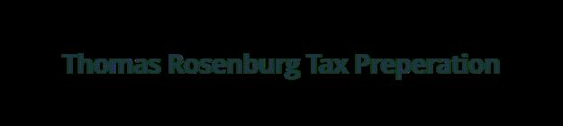 Thomas Rosenburg Tax Preperation logo