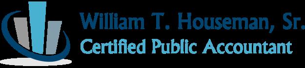 William T. Houseman, Sr., CPA logo