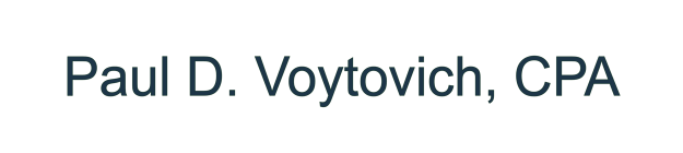 Paul D. Voytovich, CPA