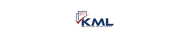 KML ACCOUNTING AND TAX SERVICE logo