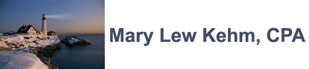 Mary Lew Kehm, CPA logo