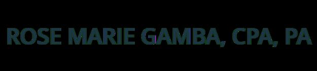 Rose Marie Gamba, CPA logo