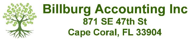 Billburg Accounting Inc.  logo