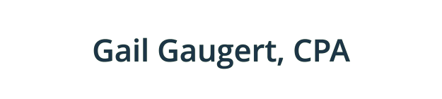 Gail Gaugert, CPA logo