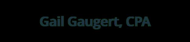 Gail R Gaugert, CPA logo