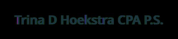 Trina D Hoekstra CPA P.S. logo