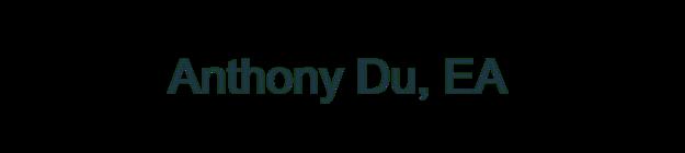 Anthony Du, EA