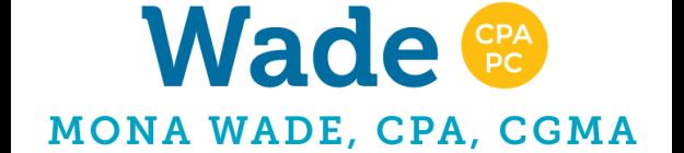 Wade CPA PC logo