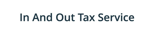 In And Out Tax Service of Eastpointe logo