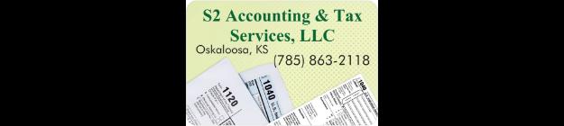 S2 Accounting & Tax Services, LLC  logo