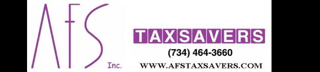 AFS Taxsavers Inc.