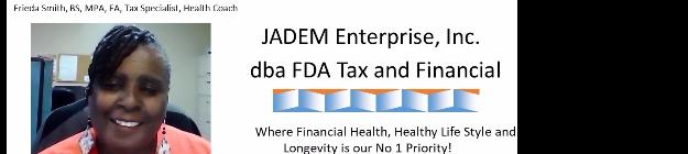 JADEM Enterprises Inc. dba FDA Tax and Financial