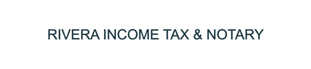 RIVERA INCOME TAX & NOTARY