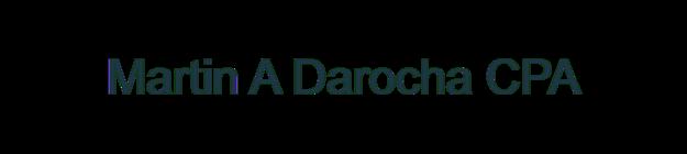 Martin A Darocha CPA logo