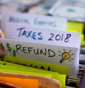 Files with Tax Return tab