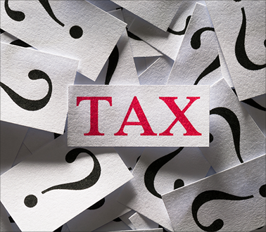 Tax and Question Marks