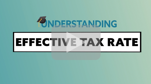 Tax Terms: Effective Tax Rate