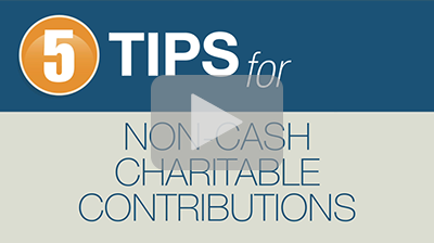 Make the Most of Your Donations