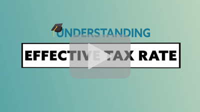 Thumbnail: Tax Terms: Effective Tax Rate