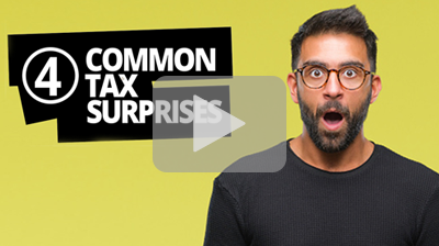 Thumbnail: 4 Common Tax Surprises