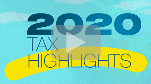 2020 Individual Tax Highlights